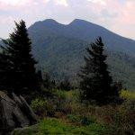 Winter Star Mountain and Deep Gap