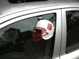 WindowFanz NC State Car Helmet Review